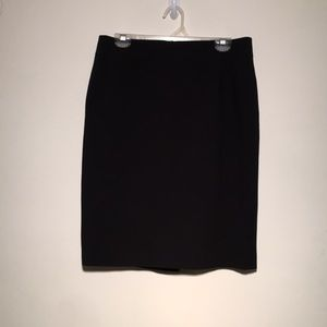 Calvin Klein Black Pencil Skirt, Size 10